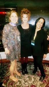 ISAM Reception - Karen, Marilyn and Tux