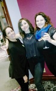 ISAM Reception - Marilyn, Hannah and Christy